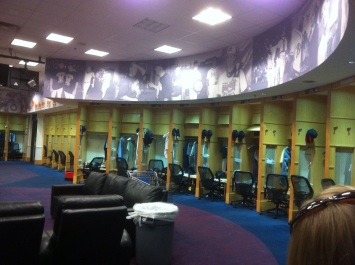 The Braves Locker Room