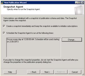 Figure 4  - Snapshot Agent